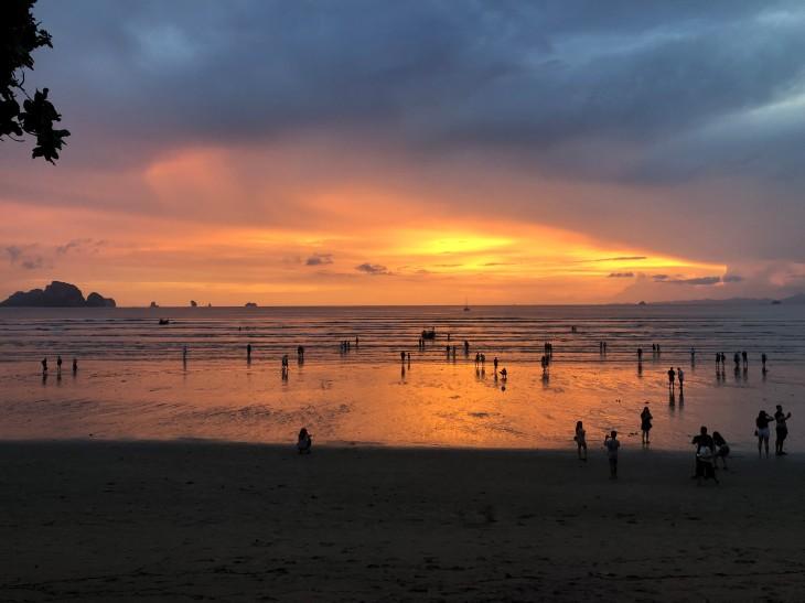 Sunset Krabi