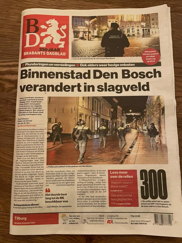 Rellen Den Bosch Brabants Dagblad Krant