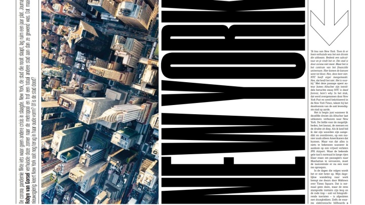 Mijn reportage over New York in JFKMagazine